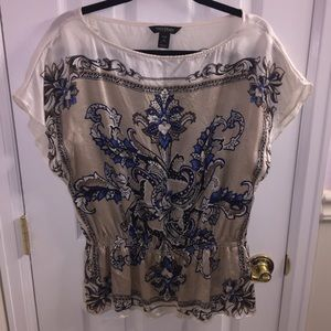 Silk blouse from WHBM